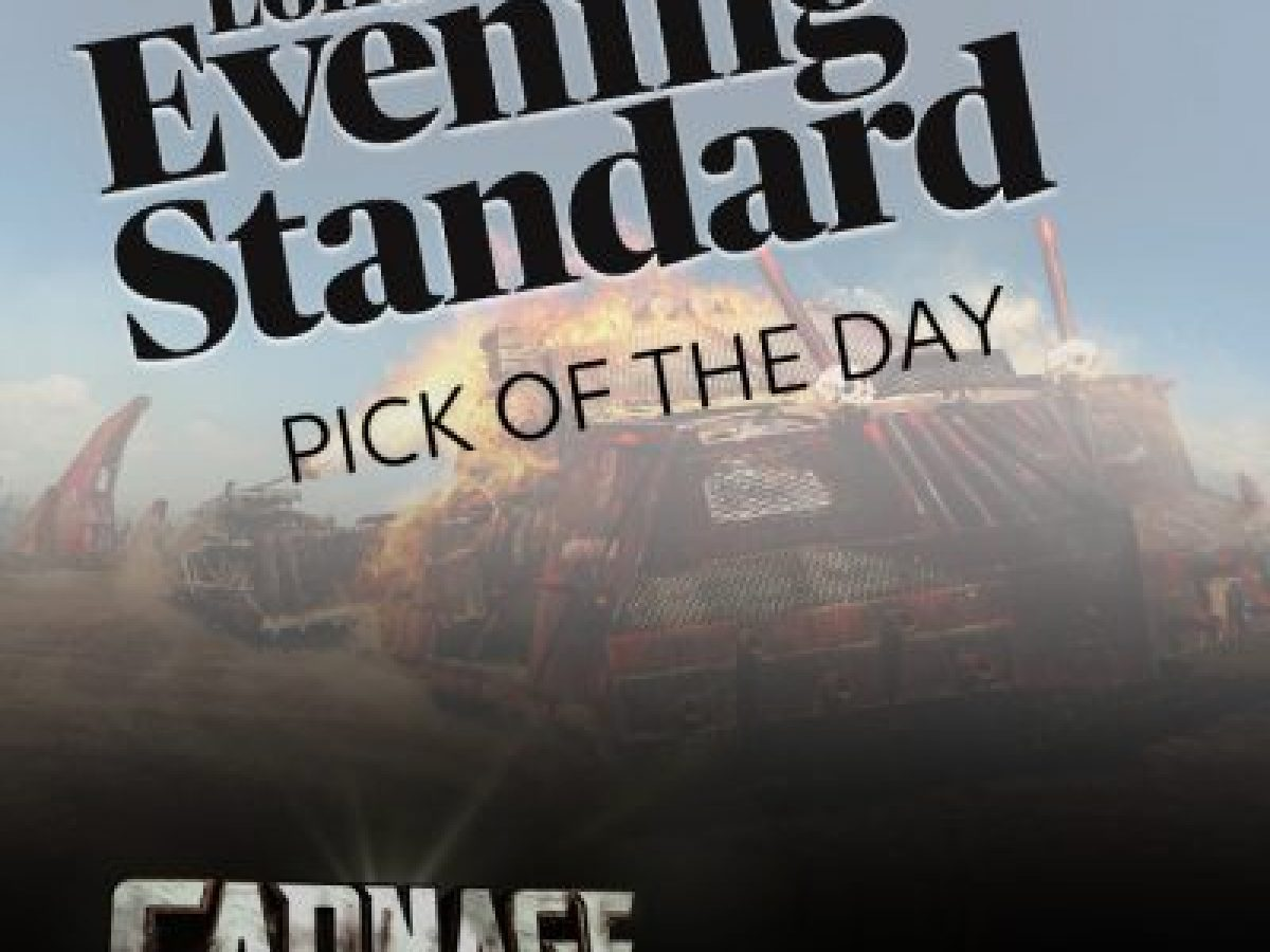 Evening Standard - Carnage 'Pick of the Day'