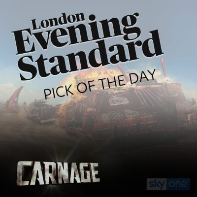 Carnage - Featured image for evening standard article
