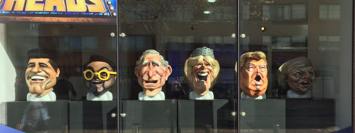 Bigheads on Display at ITV